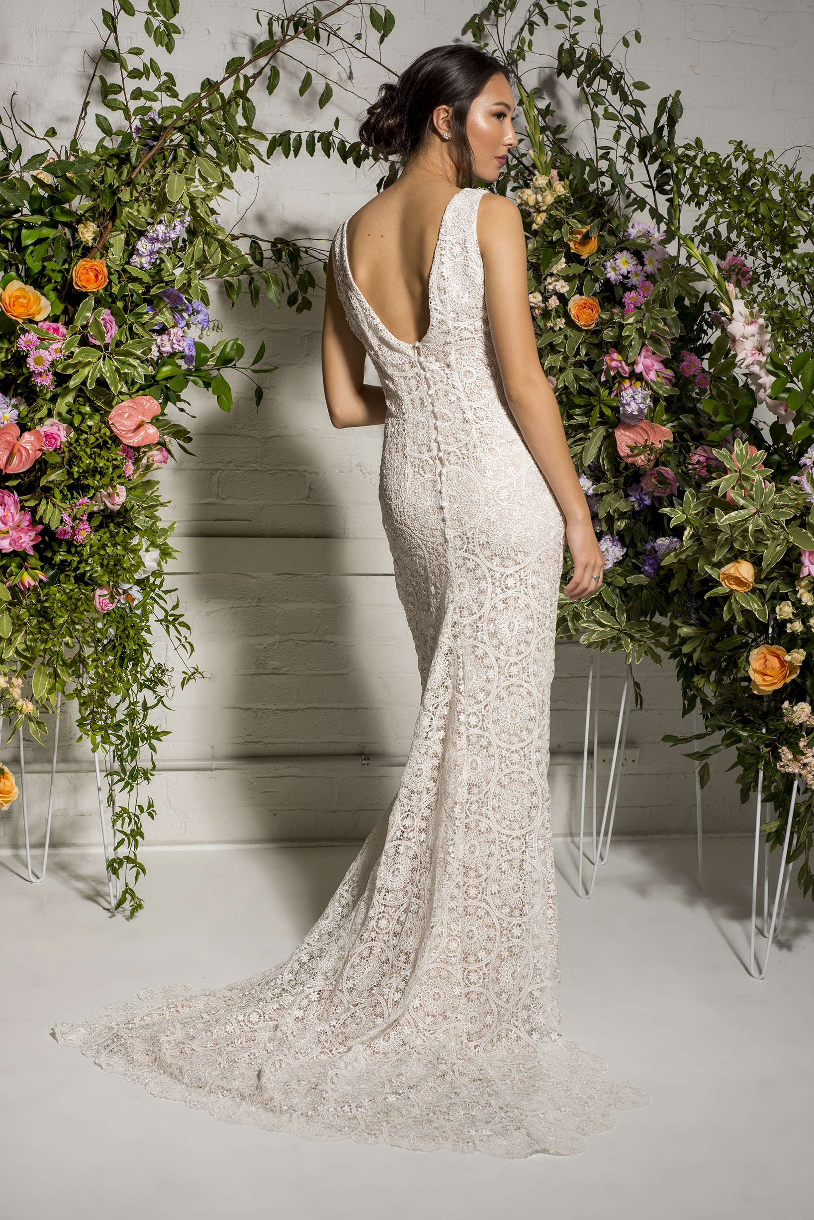 Auckland bridal store - Amber Whitecliffe lace wedding dress