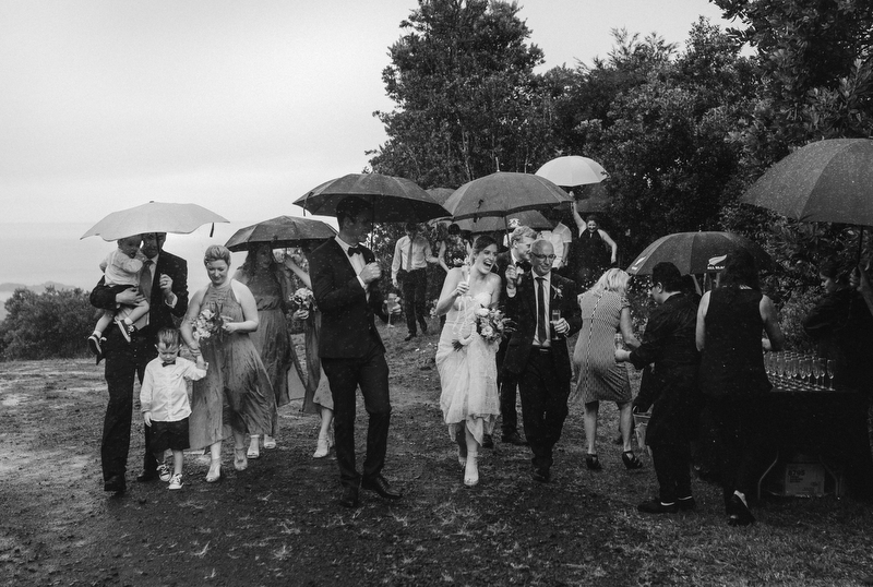 New Zealand wedding - Hahei, Coromandel weather