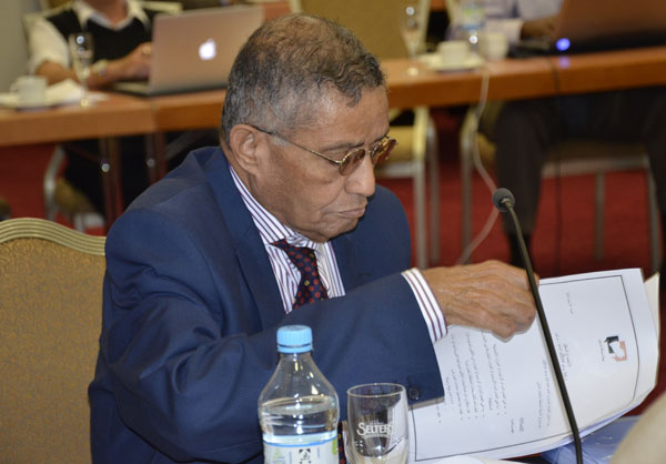 مخرجات الحوار تنعي القاضي نجيب شميري