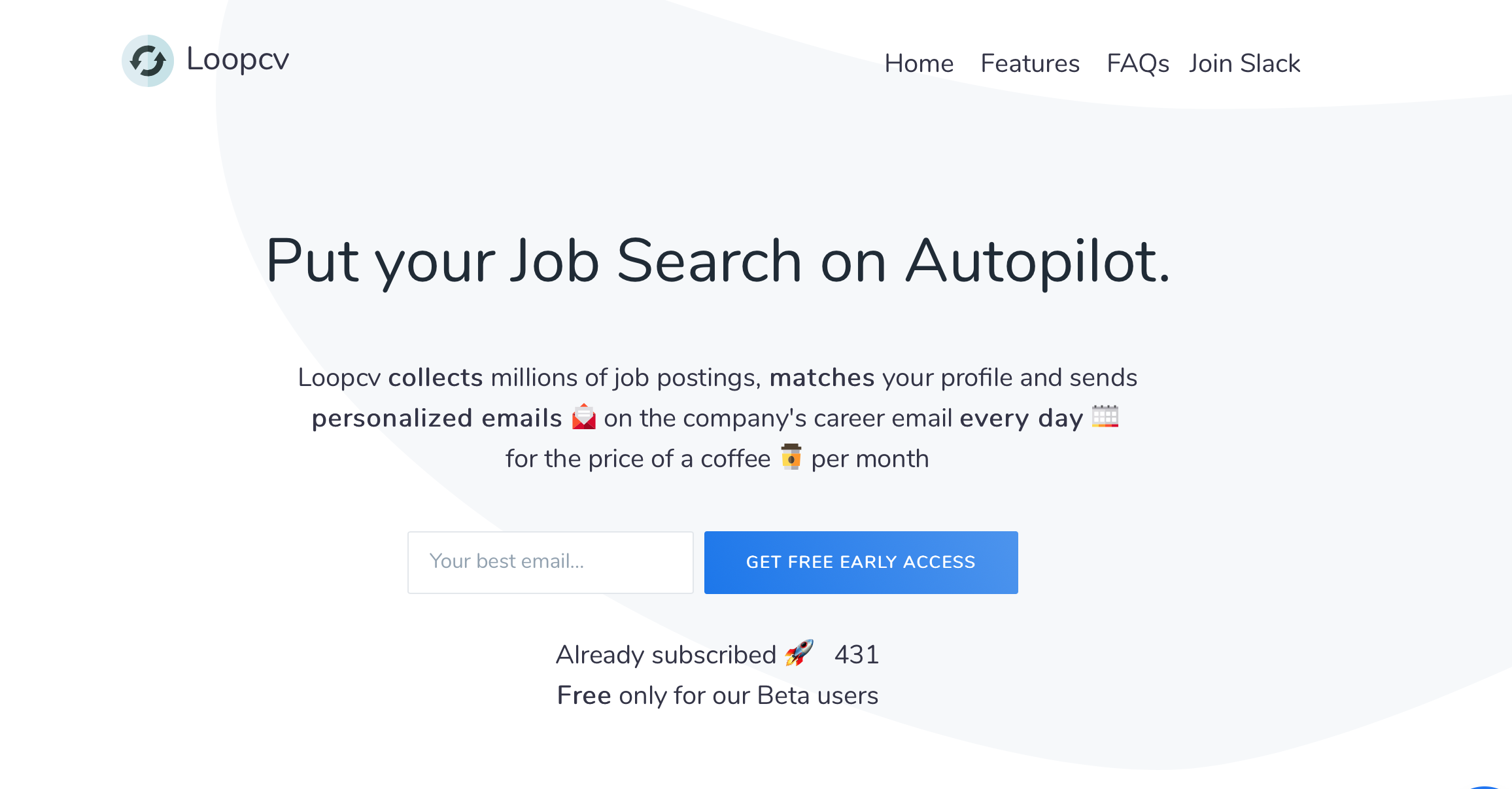 Email automation for job hunters
