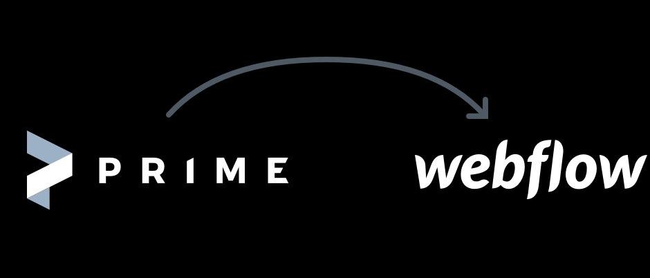 Prime to Webflow