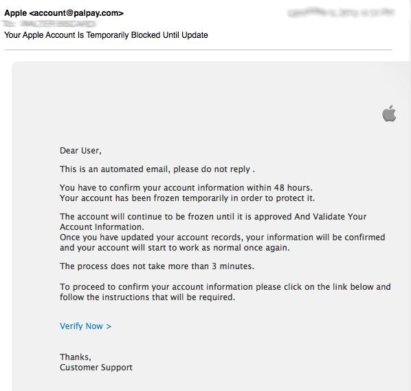 Jocr E-mail Phishing