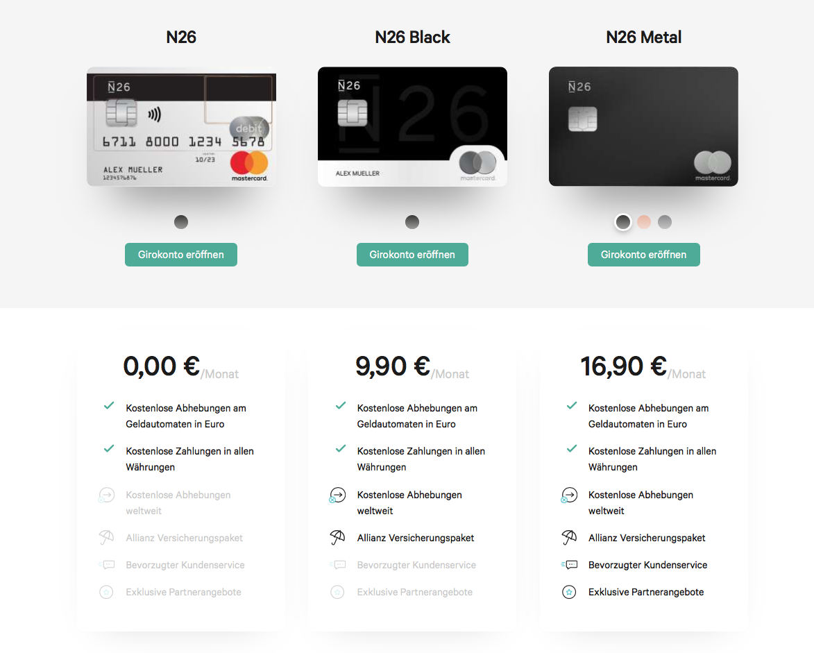 Jocr Apple Pay N26