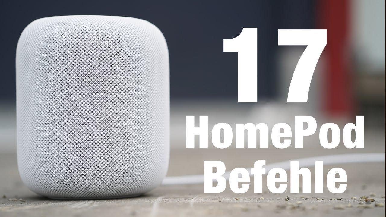 17 HomePod Befehle für den Alltag