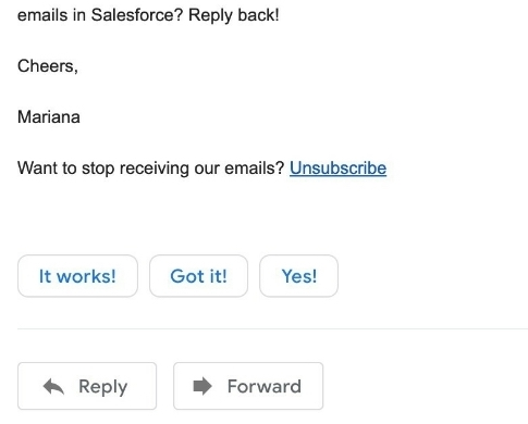 app to create unsubscribe links into Salesforce mass emails
