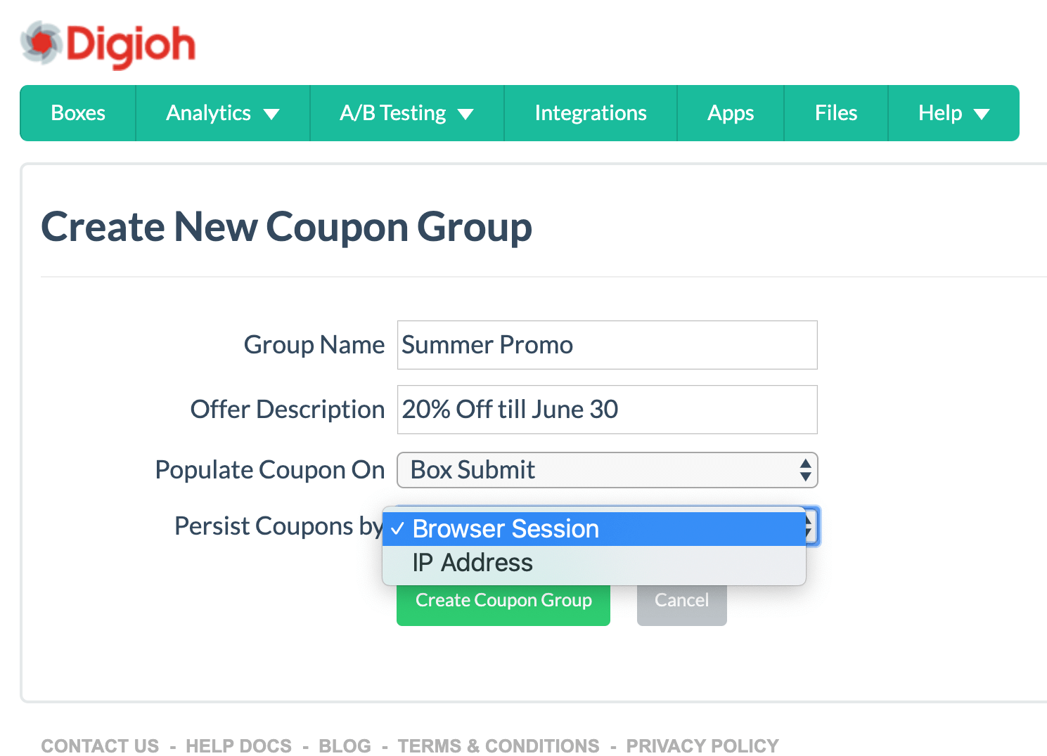 unique coupon codes to pass to Klaviyo