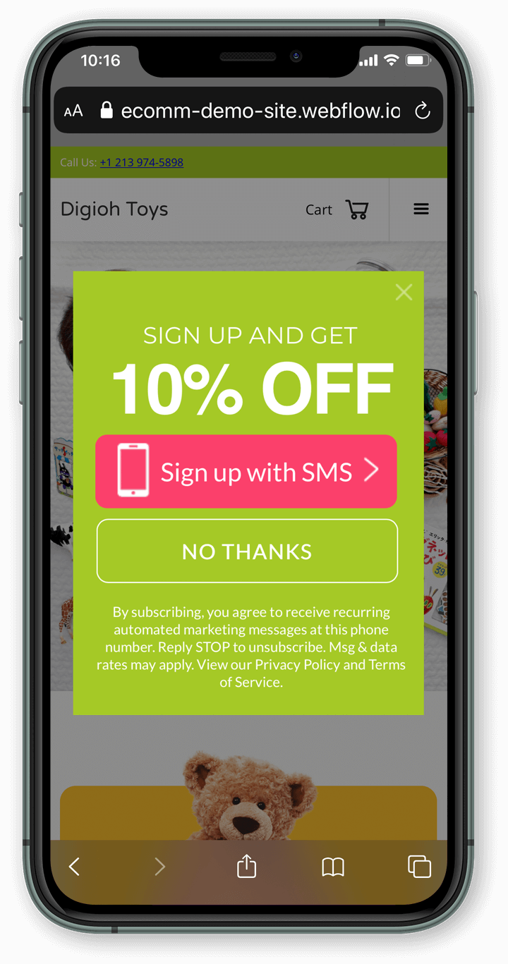 Marketing Cloud Mobile Connect sms  optin