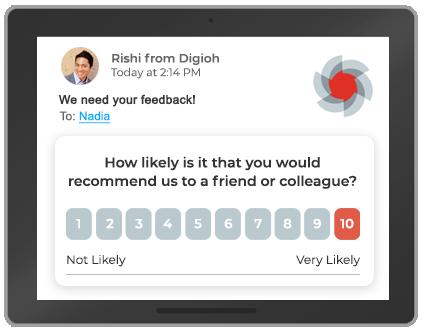 Salesforce marketing cloud surveys