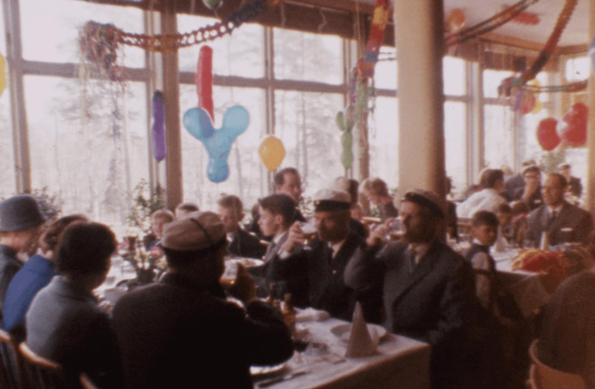 Perinteinen vappujuhla klubilla