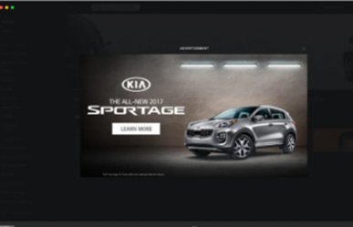 Overlay Display Ads Spotify
