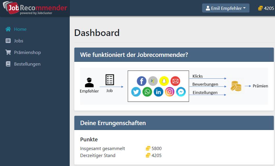 Digitales Mitarbeiterempfehlungsprogramm: Mit dem Jobrecommender Fachkräfte gewinnen