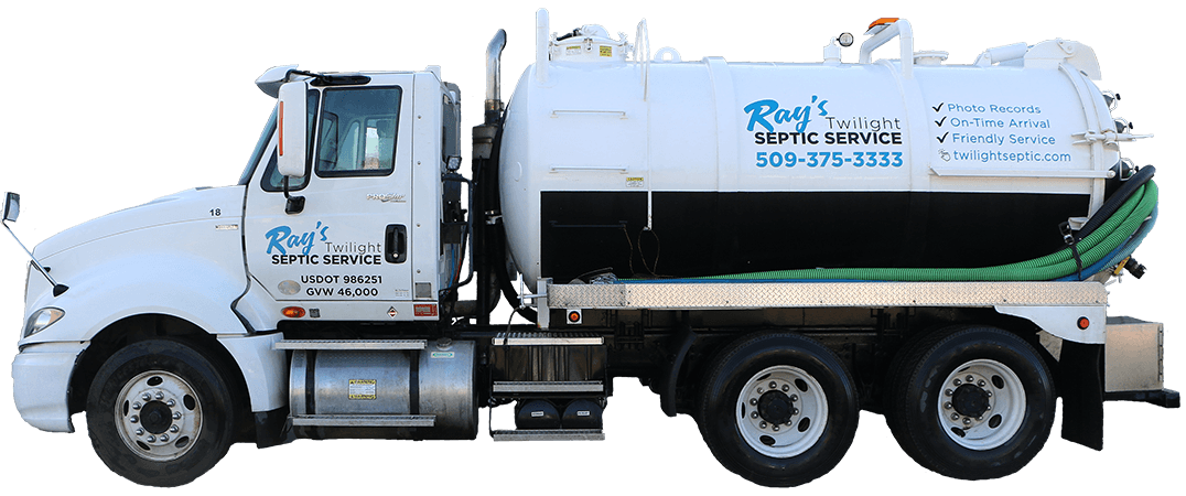Ray's Twilight Septic Service Pumping Truck