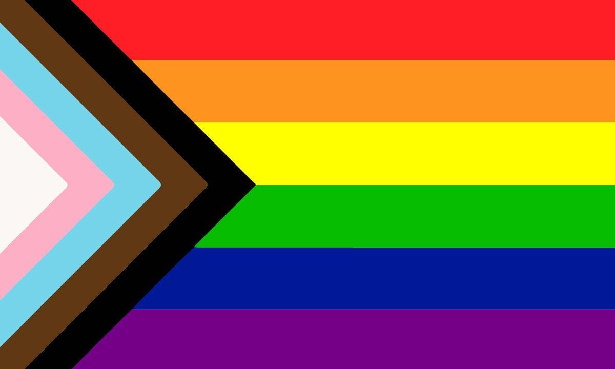 The inclusive Pride Flag
