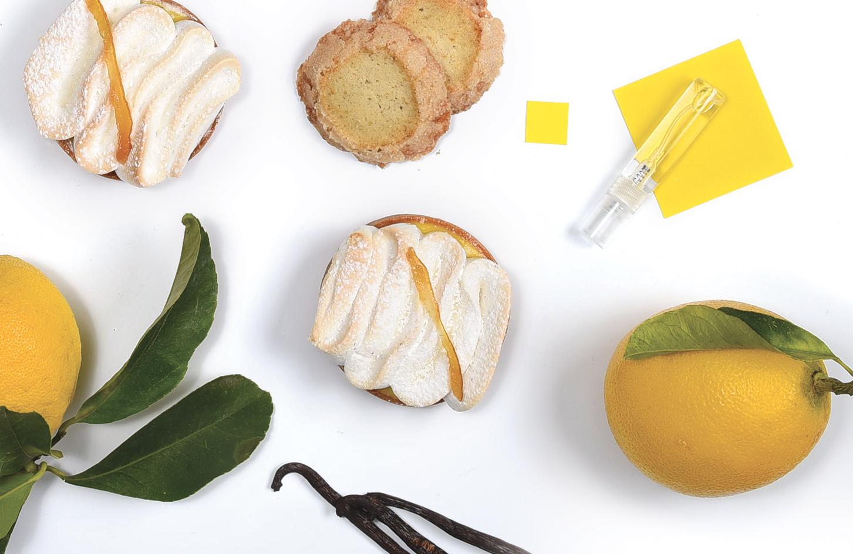 Kubo-pâtisserie - Tarte bergamote extravagante et son parfum associé