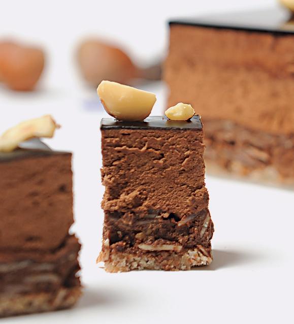 Kubo-pâtisserie - Entremet chocolat intense