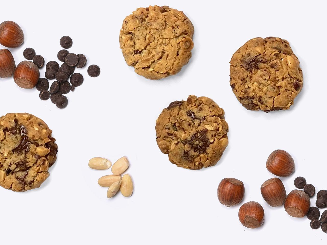 4 Cookies Pralin Coquin
