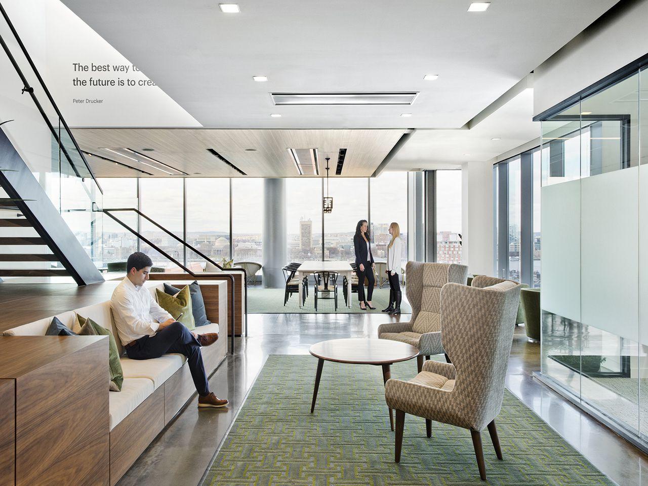 Accenture Stair Nook