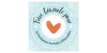 Logo fondation Portraits d'Étincelles