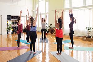 Photo cours yoga