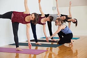 Photo de groupe cours yoga