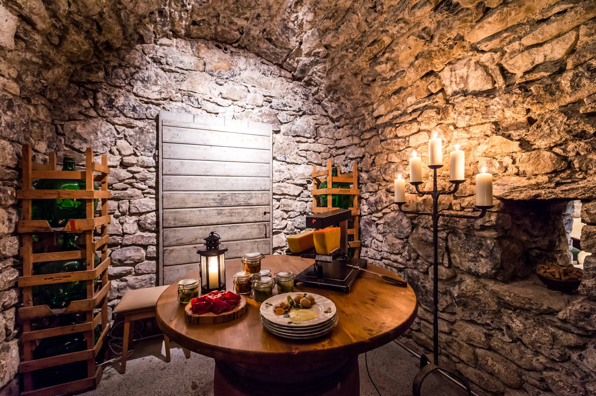 Galerie photo du caveau de l'Auberge du Raisin à Cully