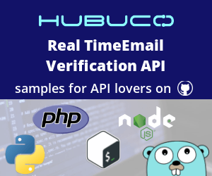 Email Verification API codes on GitHub
