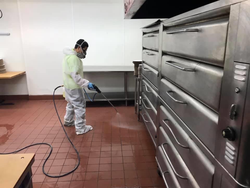 restaurant coronavirus disinfection