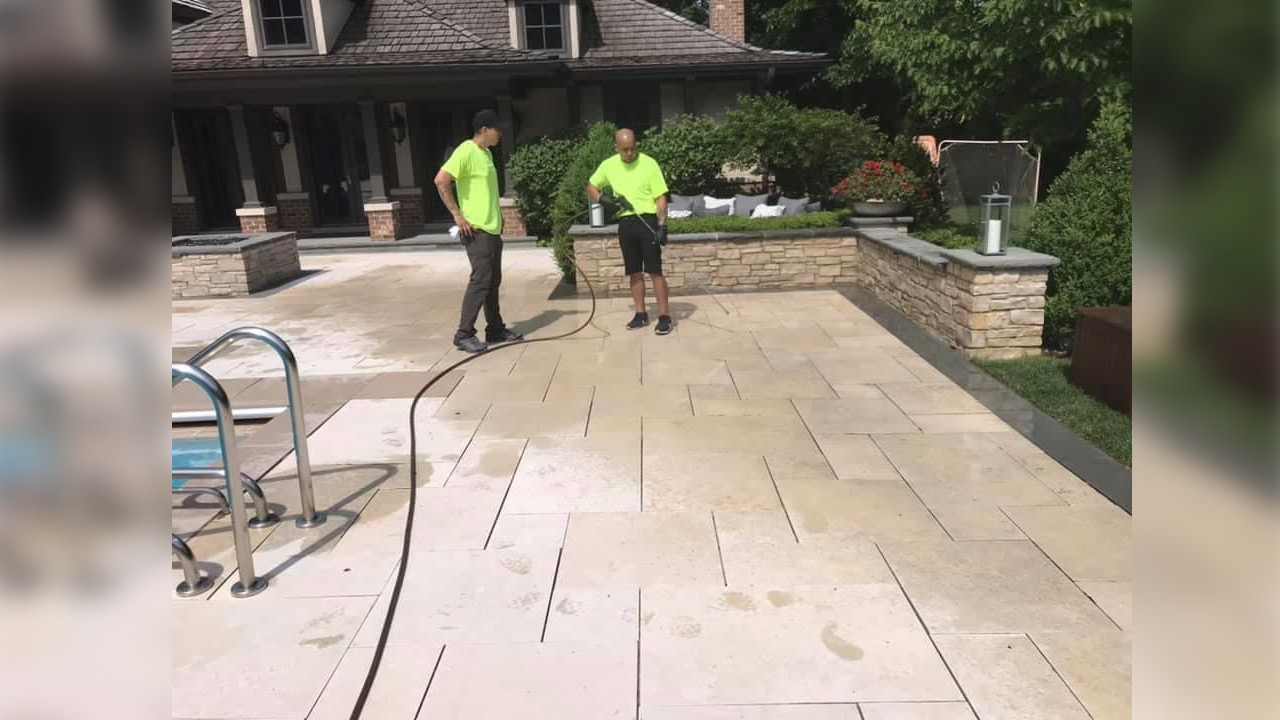 cast stone cleaning