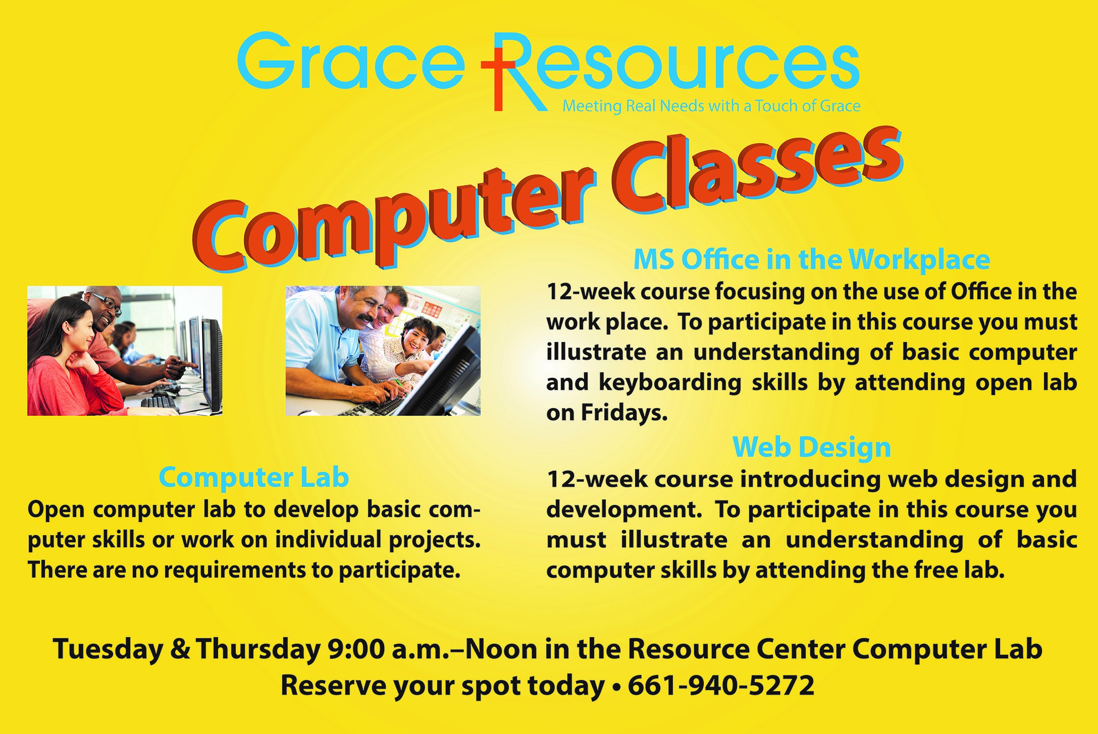 Free Computer Training Classes