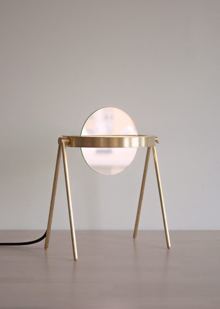Janus Table Lamp by Trueing