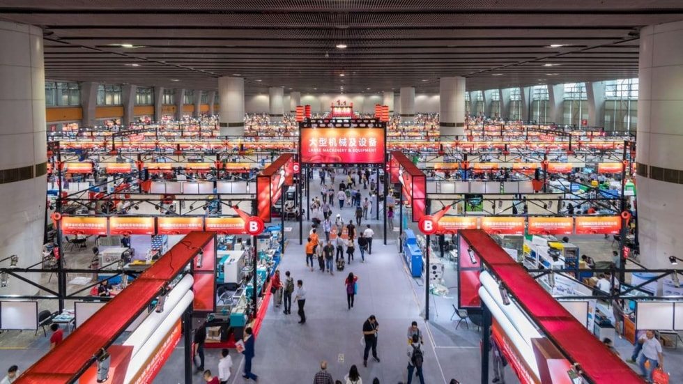 Exhibition hall of Canton Fair 2019
