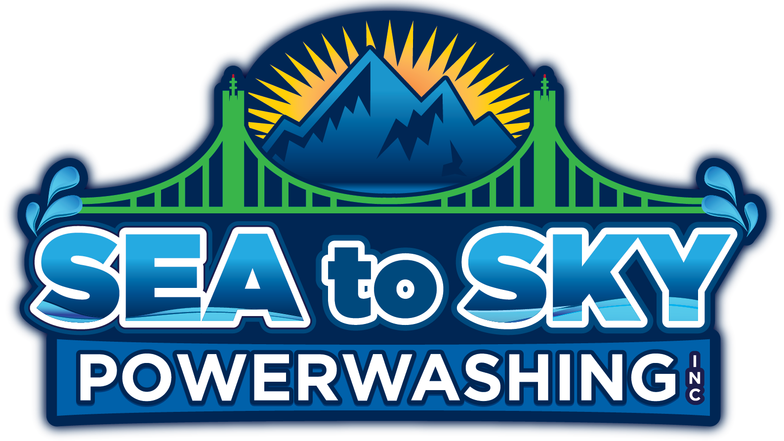 Sea to Sky Power Washing logo