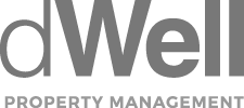 dWell property management logo