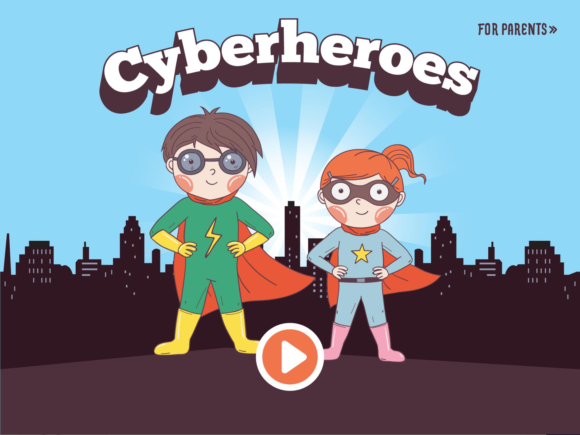 Cyberheroes screenshot