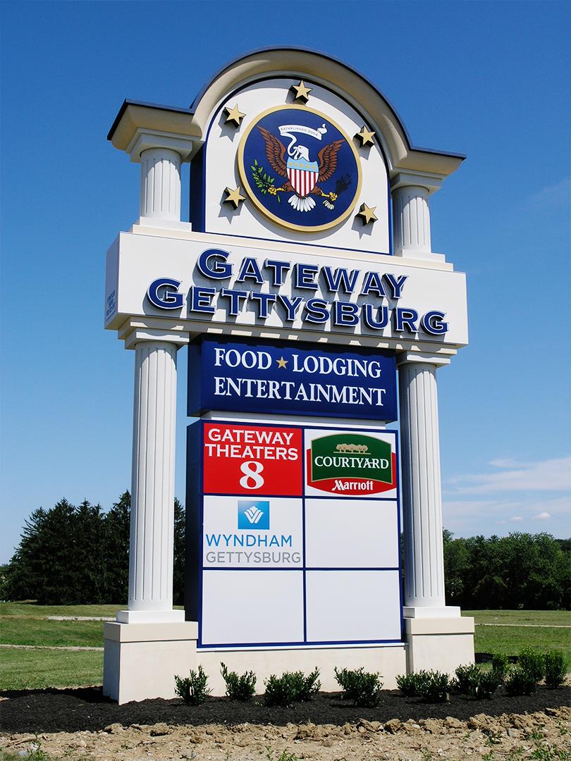 Gettysburg Gateway - Pylon