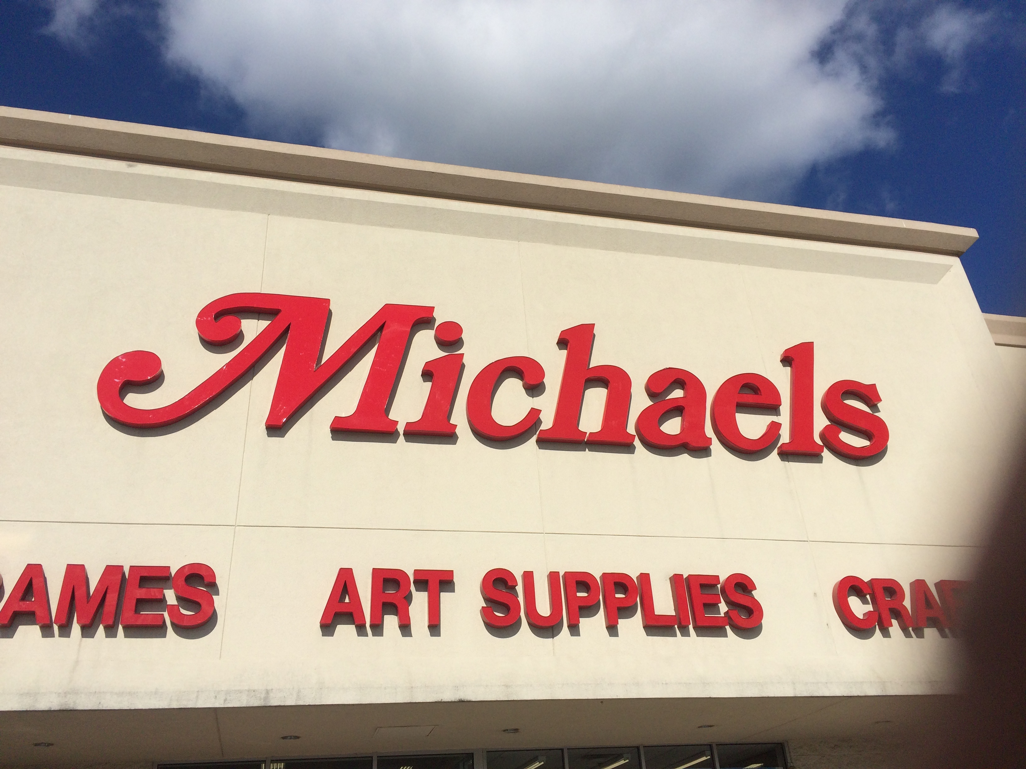 Micheals - Channel Lettering