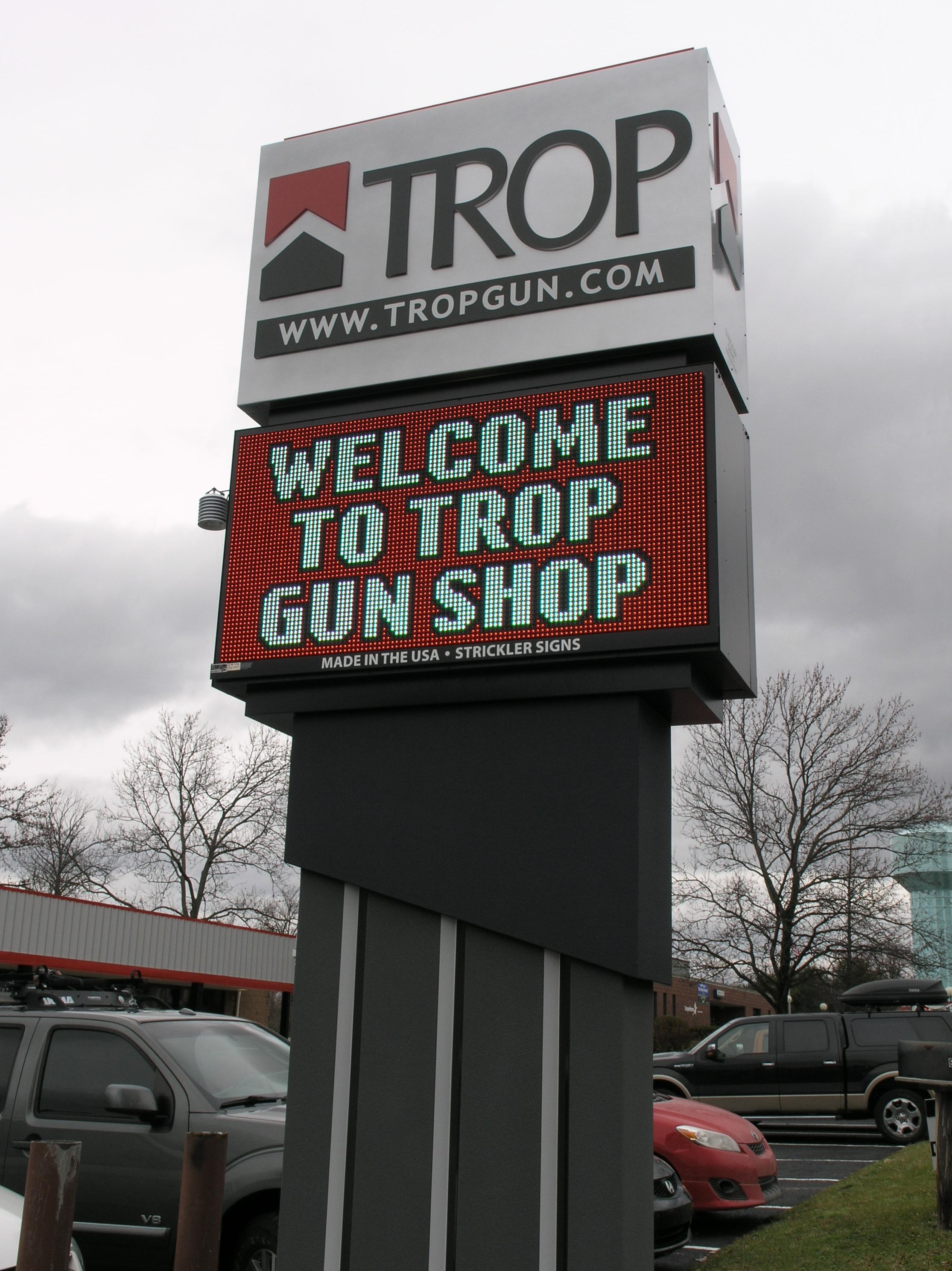 TROP  - Pylon w Digital Sign