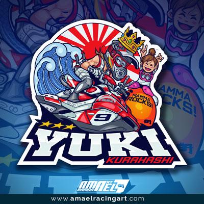 Logo Yuki Kurahashi