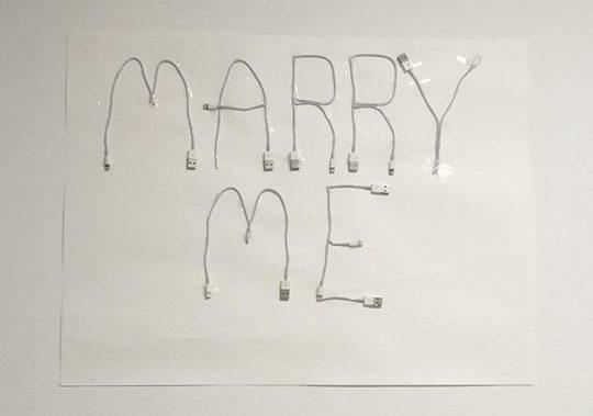 ideias para o pedido de casamento com iphone
