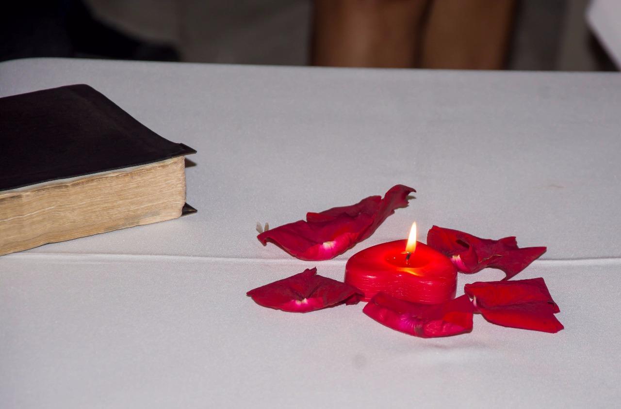 bíblia no noivado