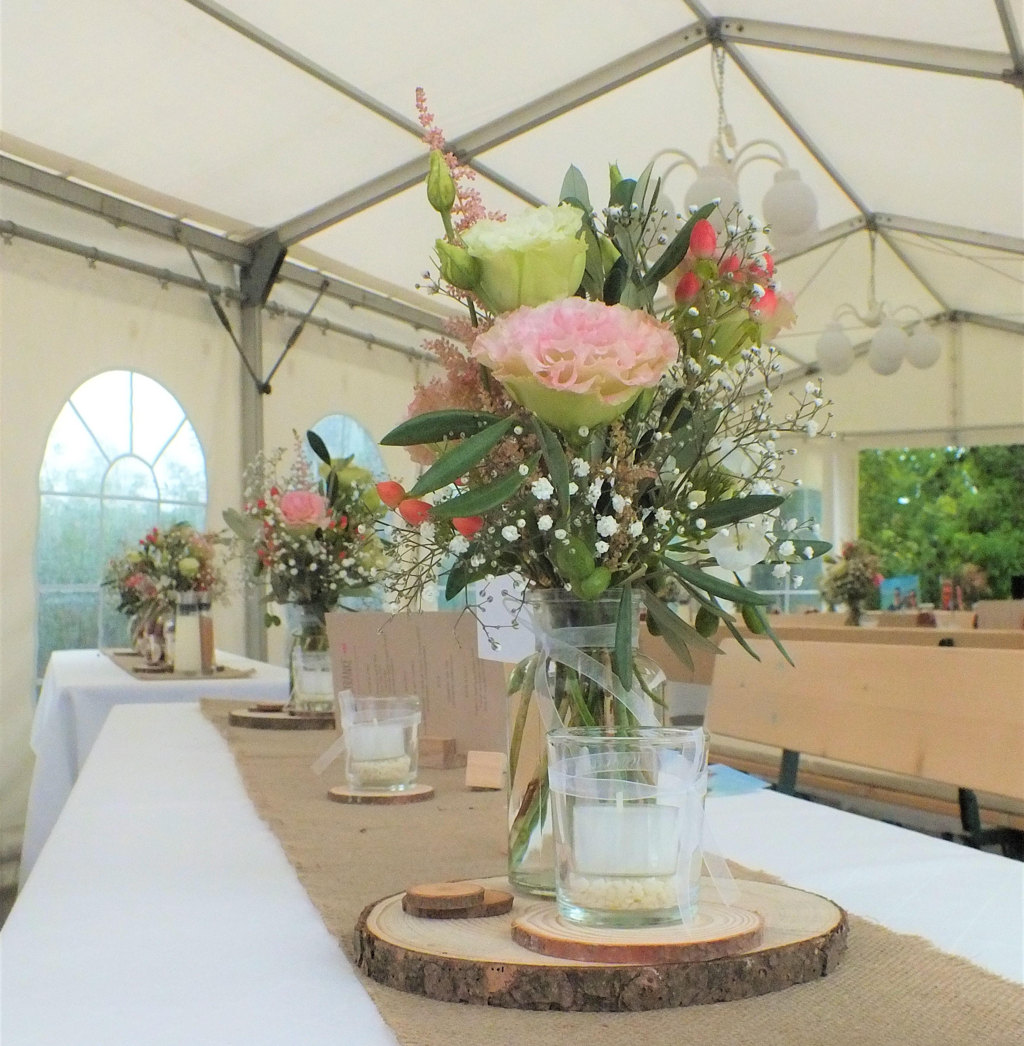 floral designer, eventfloristik, boho tischdeko