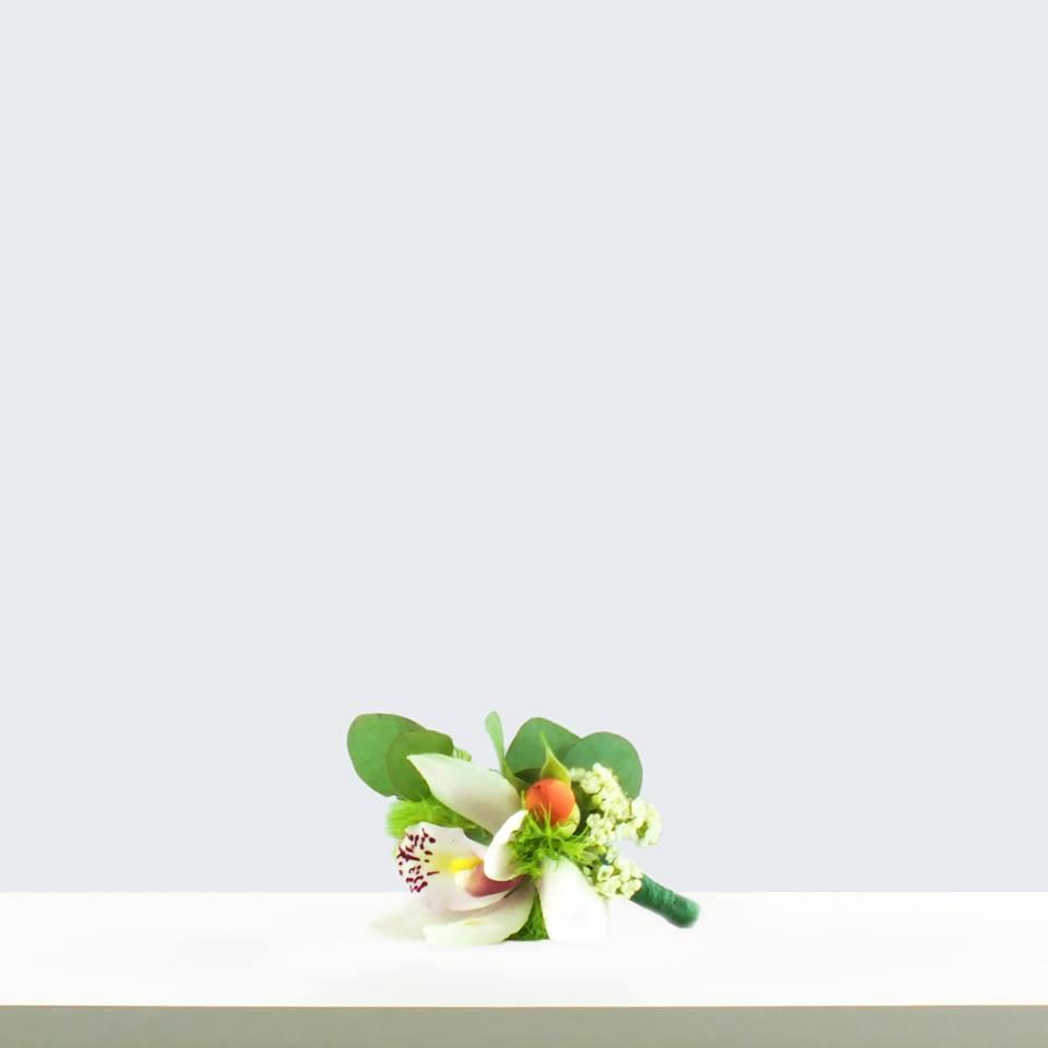 ansteckblume, hochzeitsfloristik, orhideen