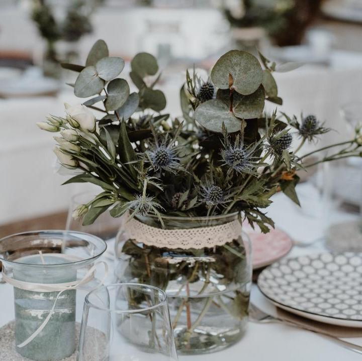 tischdeko, tischdekoration, flower design