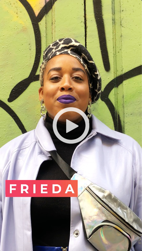 FRIEDA video - DARE TO BE YOU - feels