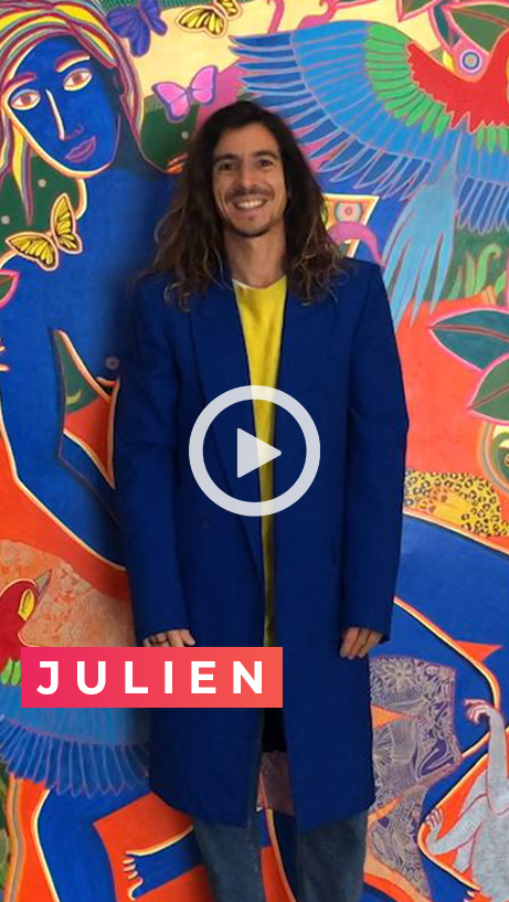 Julien Calot video - DARE TO BE YOU - feels