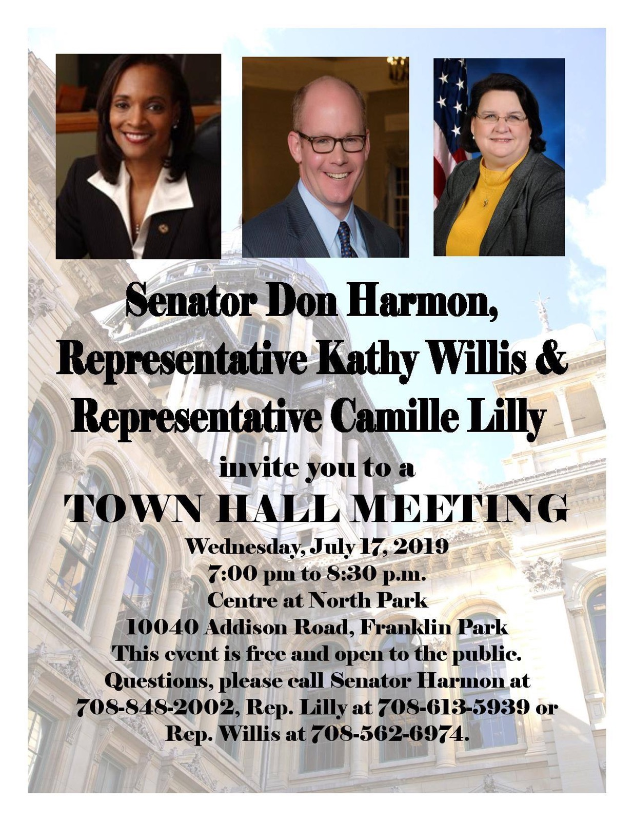 Town Hall Meeting 7.17.2019