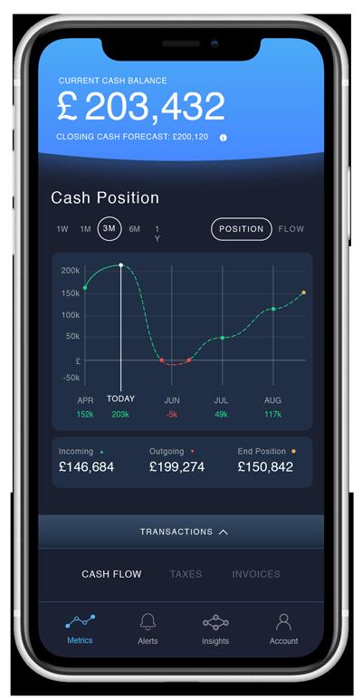 Pulse product screenshot on iPhone