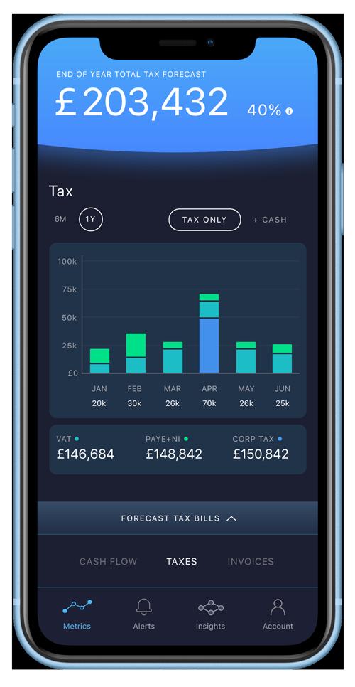 Pulse product tax screenshot on iPhone