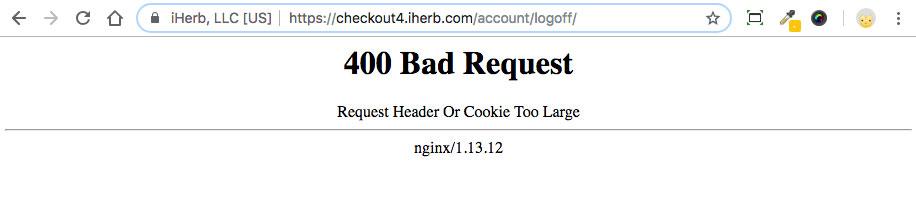 iherb 404