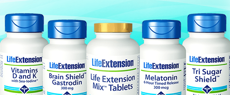 добавки life extension iHerb январь 2020